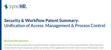 Security & Workflow Patent Summary