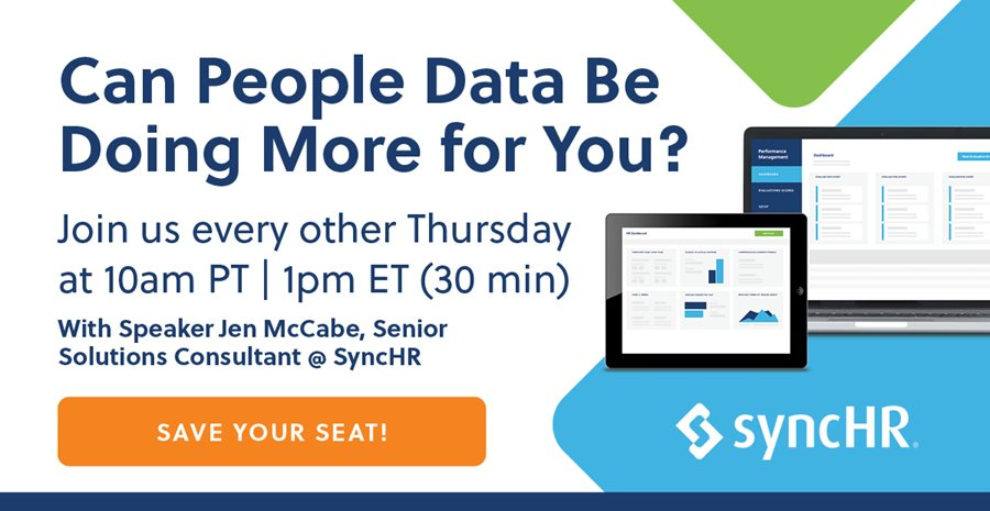 Upcoming Webinar: Can People Data Be Doing More for You?