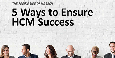 5 Ways to Ensure HCM Success