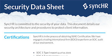 Security Data Sheet