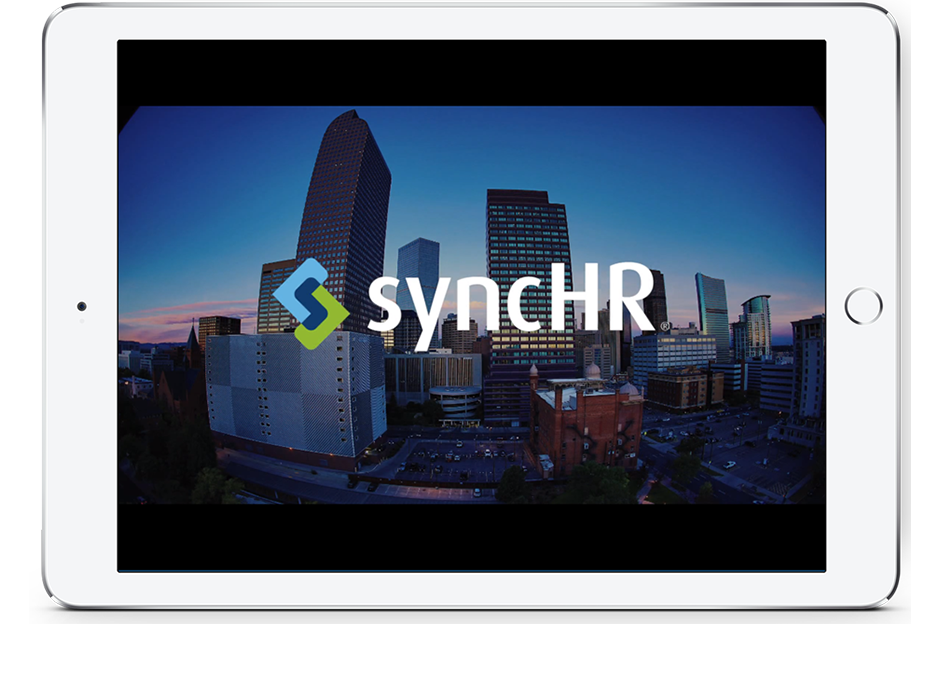 SyncHR 90 Second Intro IPad