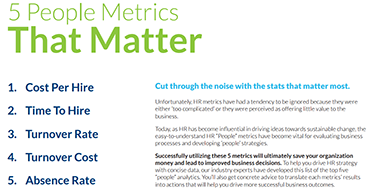 5 People Metrics That Matter